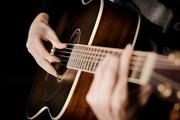 Обучение игры на гитаре.
